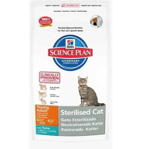 339471e5bf5f SP Feline Young Adult Sterilized Cat 300gr (τόνο)